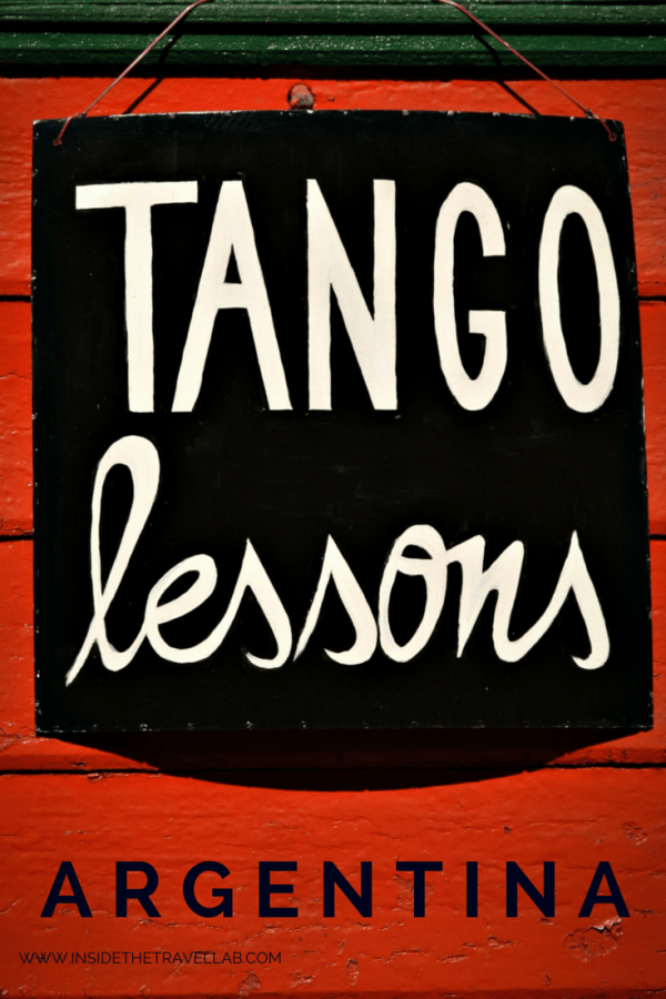 Tango lessons in Buenos Aires via @insidetravellab