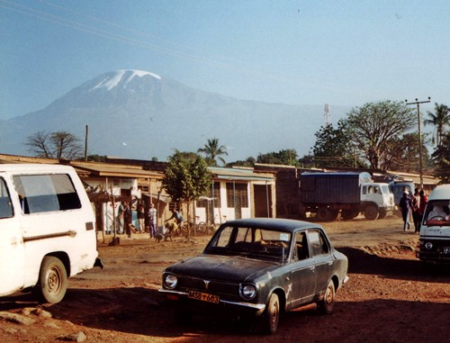 Moshi, in the shadow of Kilimanjaro
