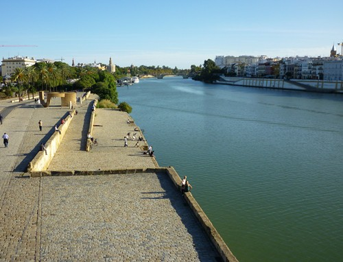 View from Triana Bridge (Puente Isabel II)