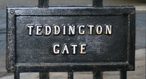 Teddington Gate Sign