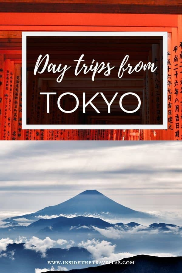 Amazing day trips from Tokyo that include Fuji and Kyoto and more. Plan your trip to Japan and Tokyo with this handy guide. #Tokyo #Japan
