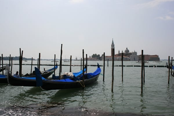 Views from Piazzetta San Marco - Gondolas and Beautiful Landscape of Venice