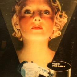 Tho-Radia Poster in the Marie Curie Museum