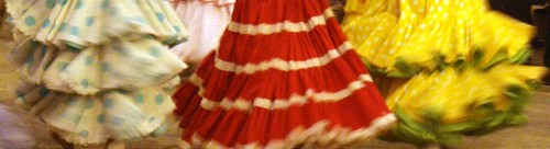 Feria Skirts - Traditional Flamenco Skirts in Triana, Seville