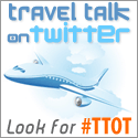 the logo for travel talk on twitter - #TTOT
