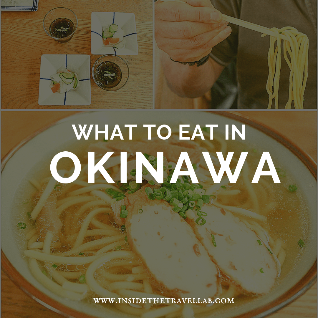What to eat in Okinawa - Guide to Okinawa Food Japan