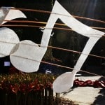 Musical notes at the Flower Festival