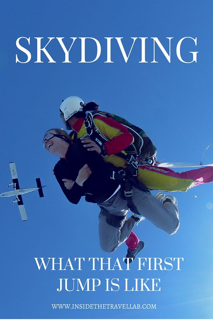 That first skydiving experience via @insidetravellab