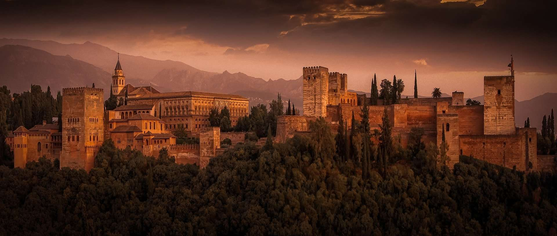 Spain - Andalusia - Alhambra - Landscape view