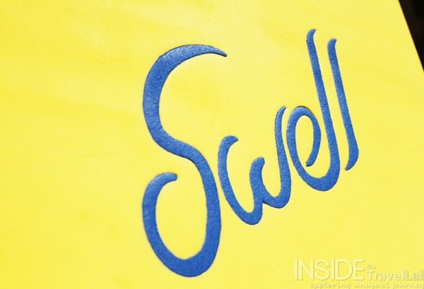 Swell surf board picture