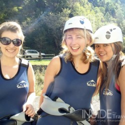 Canyon Video with Canyoning Girls