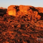 Wadi Rum As the Sun Sets