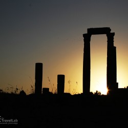 A Beautiful Moment - Amman Citadel