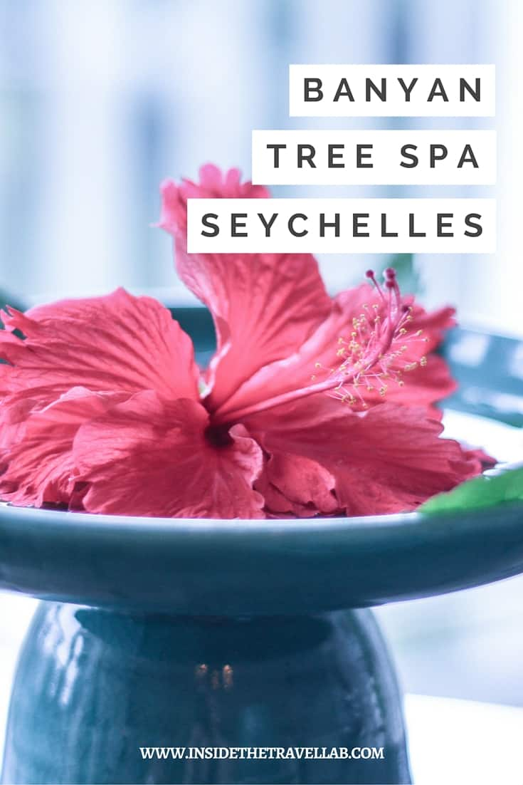 Highlights of The Seychelles > My senses breathe in amber incense, hot ginger and tropical forest air. I'm standing in the spa at the Banyan Tree, Seychelles and I'm blissing out. - Via @insidetravellab
