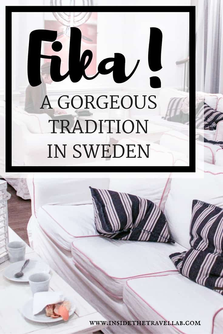 Fika - a gorgeous tradition to discover when you travel to Sweden via @insidetravellab