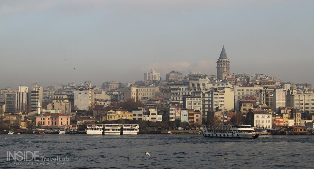 About Istanbul Galata Golden Horn View