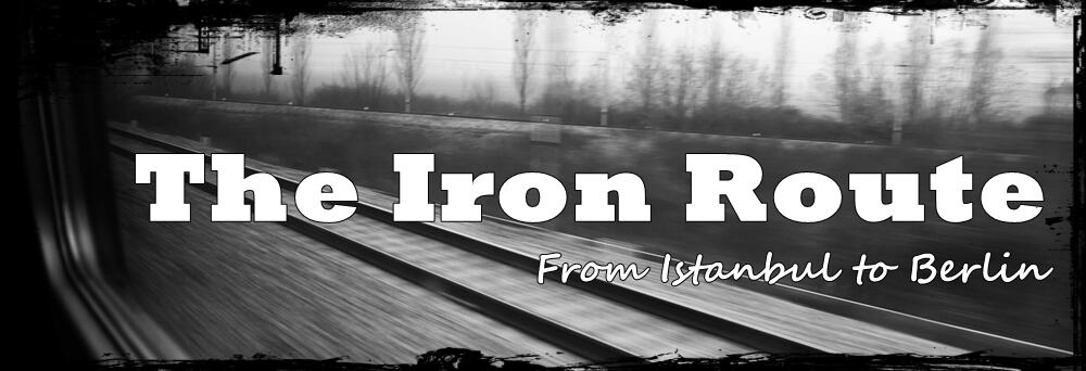 Ironroute banner - from Istanbul to Berlin by train