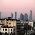 About Istanbul - looking towards Levent