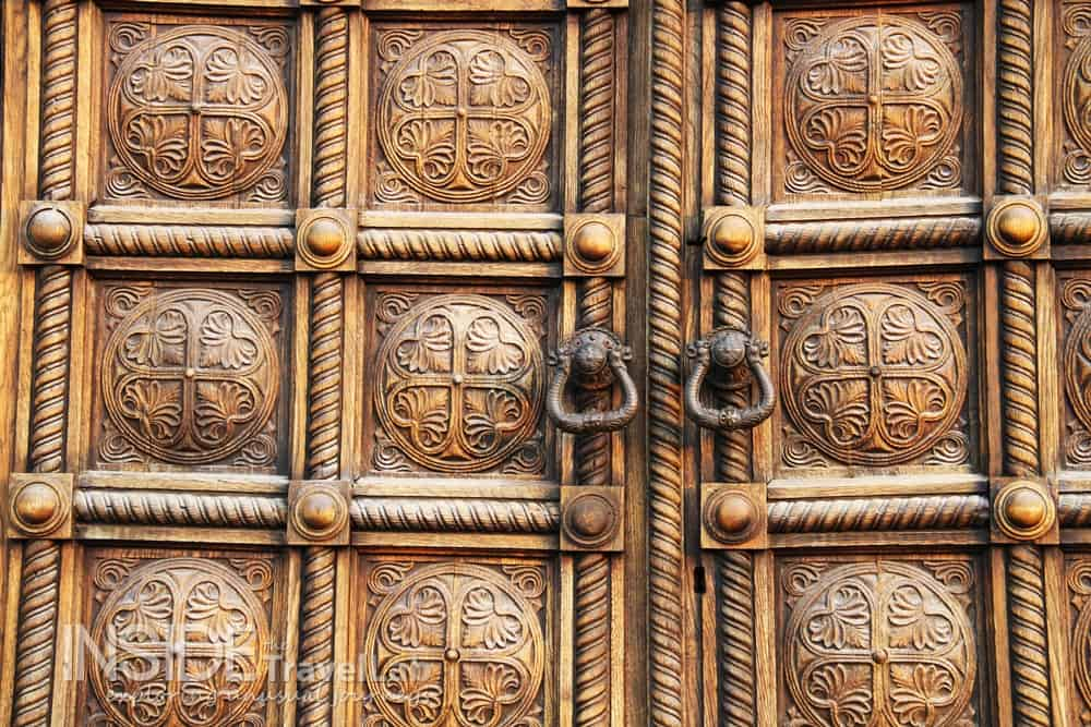 Photos of Sofia - cathedral door