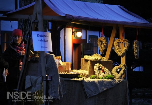 Swedish Christmas Market Stall
