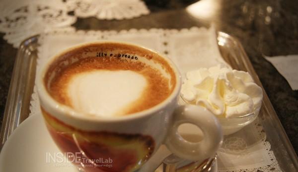 Trieste coffee in Caffe Tommaseo where James Joyce worked