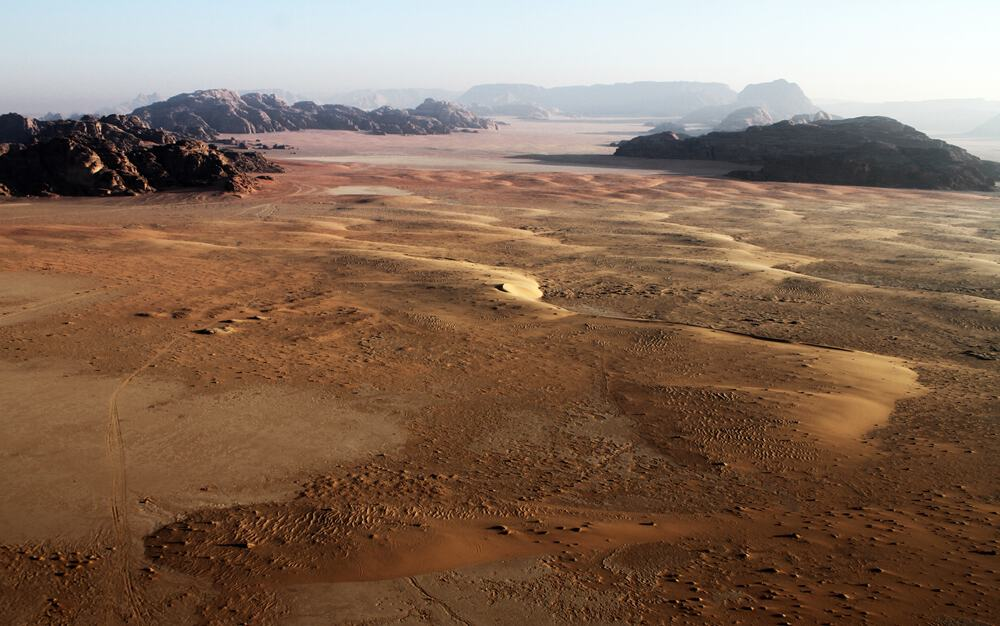 Balloon flights wadi rum
