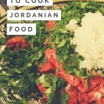 Jordanian food relies heavily on fresh ingredients, often finely chopped. It's also surprisingly easy to make. - via @insidetravellab