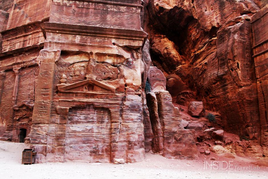 Petra Red Rock