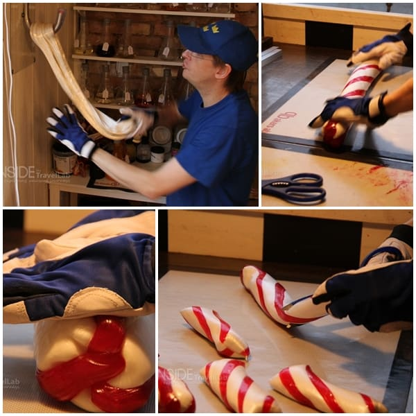 How to make candy roll