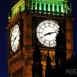 Big Ben at night - seen from the River Thames