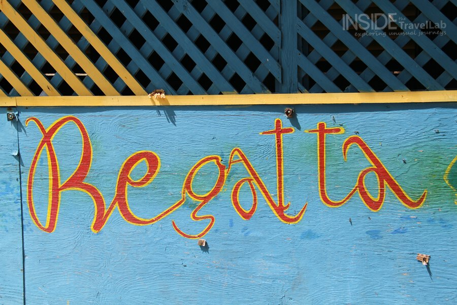 The Grenadines - Regatta painted sign