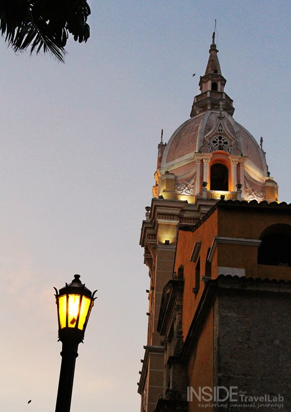 Cartagena at Night, Colombia