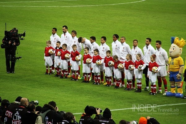 Poland vs Portugal 2012