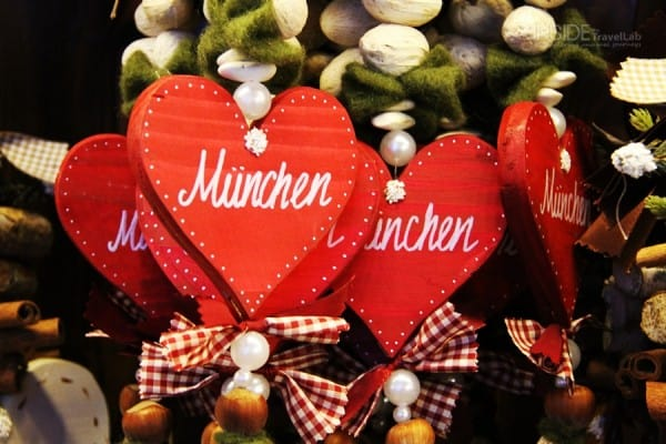 Munich Christmas Market Hearts