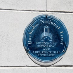 Barbados History Plaque