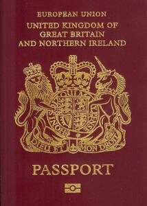 British unicorn passport