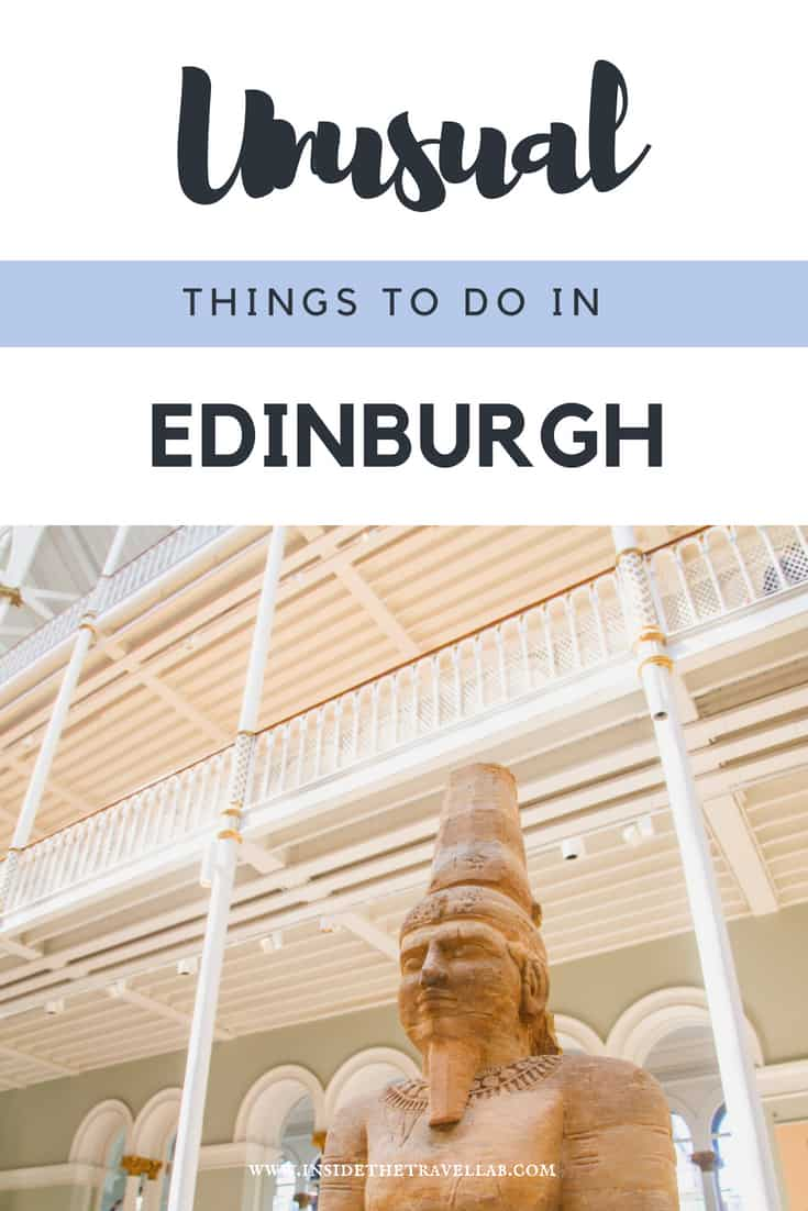 Unusual things to do in Edinburgh - including and beyond Harry Potter and some highly instagrammable hotspots! Enjoy your travels to Scotland and find plenty of inspiration for what to see and do in Edinburgh. #Scotland #Edinburgh #TravelScotland #LoveScotland