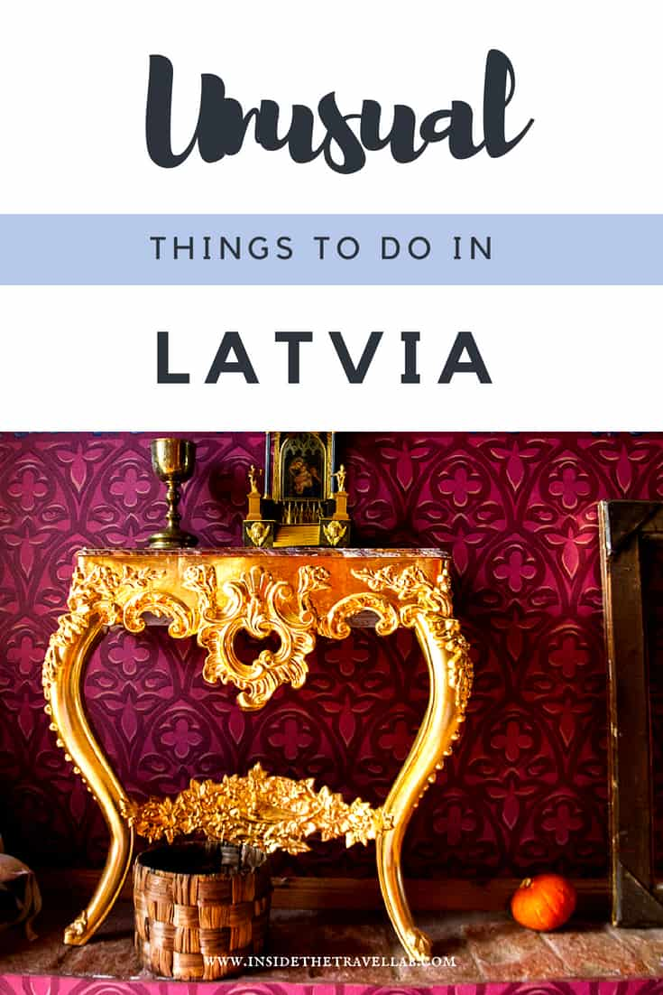 Unusual things to do in Latvia. Enjoy travel in Latvia through its beaches, gastronomy, wine and a luxury city break in Riga. Use this useful list of what to do in Latvia to help you plan your perfect trip to Latvia. Via @insidetravellab #Latvia #TravelLatvia #Riga