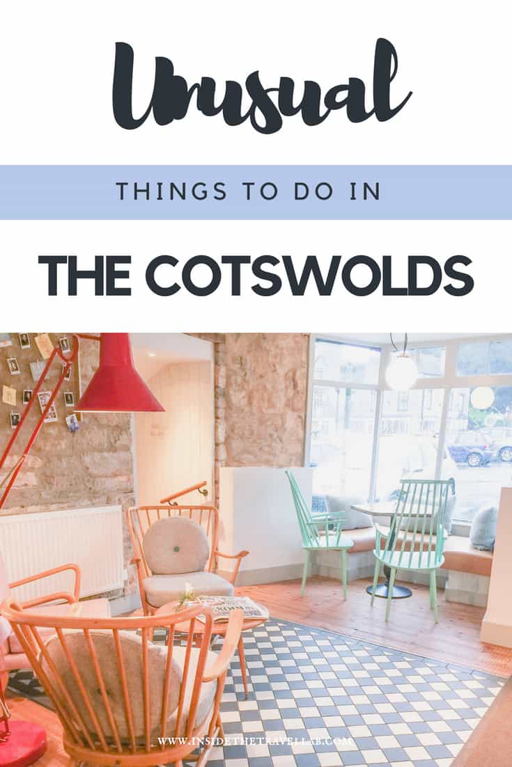 Unusual things to do in the Cotswolds beyond the classics like enjoying English Afternoon Tea and staying in a thatched cottage. Well, actually, you\'ll find both here but just in more unusual surroundings... A great place to stay in the Cotswolds for a romantic weekend away. #England #Cotswolds #Romance #UK #TravelUK