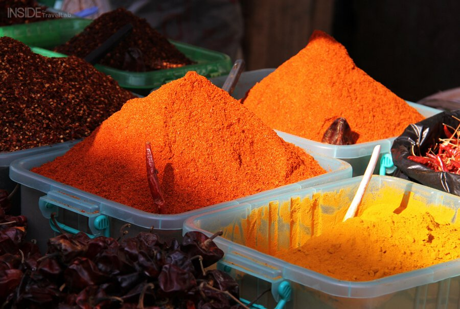 Spices in Rangoon Market