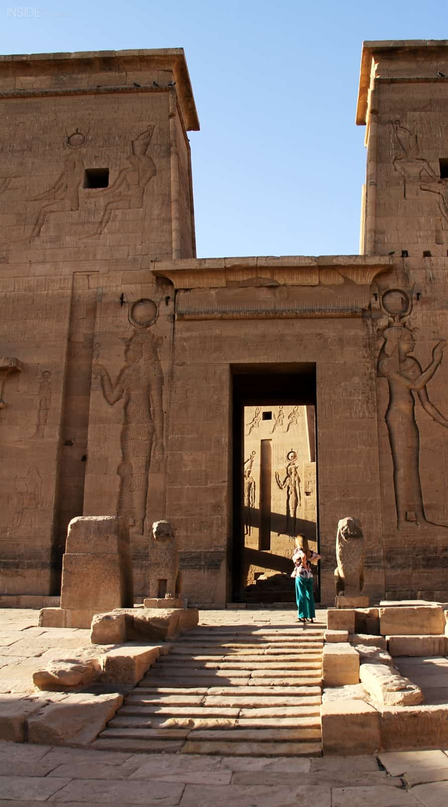 Abi King in Philae Temple