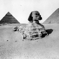 The Sphinx in 1900