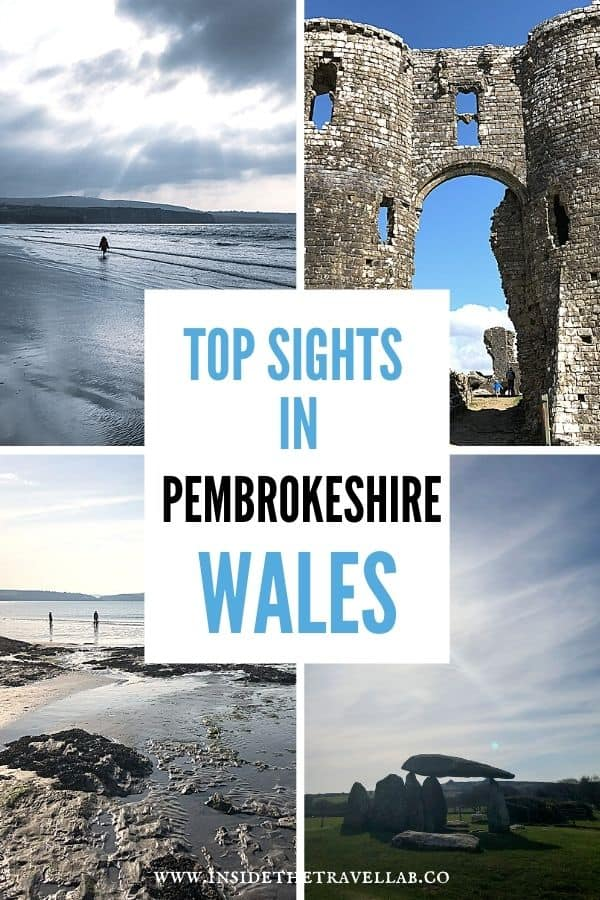 Top sights in Pembrokeshire Wales