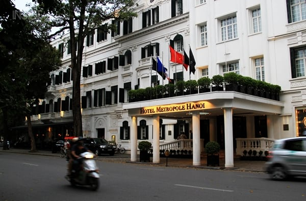 Sofitel Legend Metropole Hotel Hanoi outside