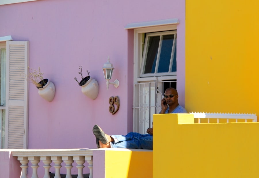 South Africa - Cape Town - Bo Kaap - Street Relaxation