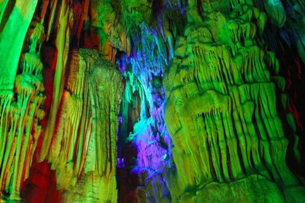 Reed Flute Cave Green