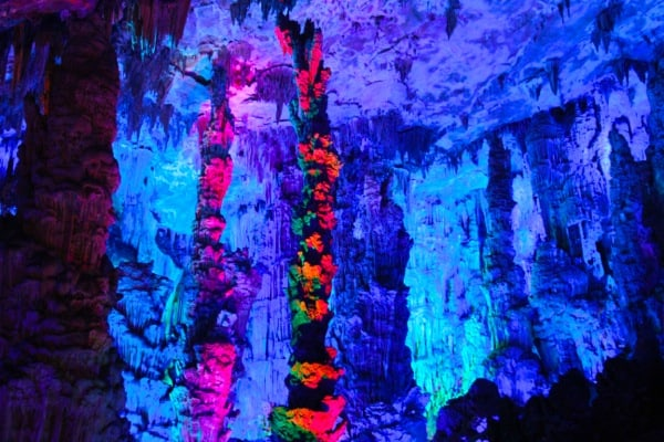 Reed Flute Caves Red Pillars