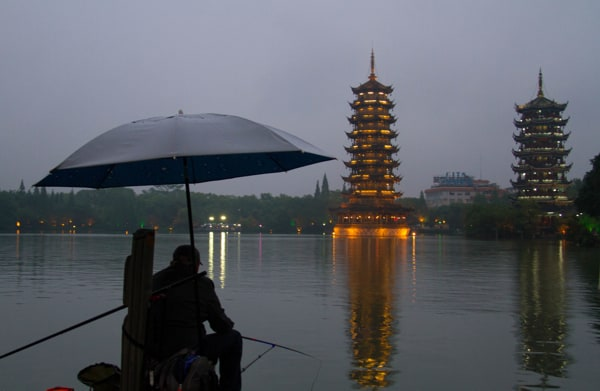 Rain in Guilin
