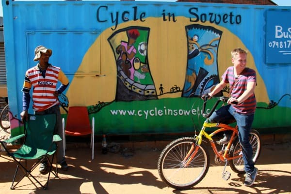 Cycling in Soweto