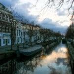 Canal at the Hague